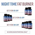 Health Shopping MAV Nutrition Weight Loss Pills Night Time Fat Burner for Women