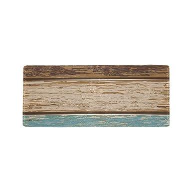 Amazon.com: Monedero de madera de grano con diseño de bosque ...