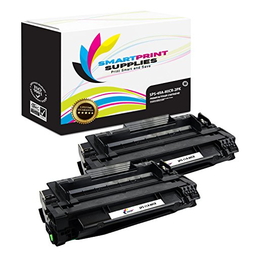 Smart Print Supplies Compatible 11A Q6511A MICR Black Toner Cartridge Replacement for HP 2400 2420 2430 Printers (6,000 Pages) - 2 Pack