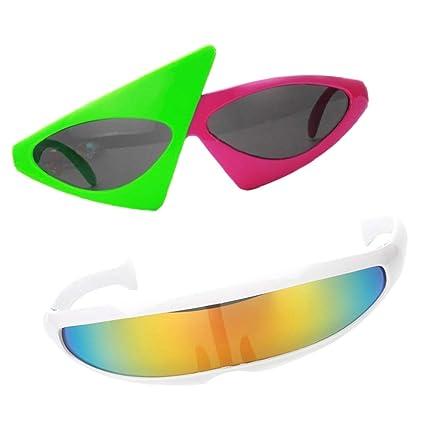 P Prettyia 2X Gafas de Sol Fiesta Accesorios Fotografía ...
