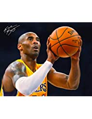 Kobe Bryant Reprint Reproduction Signed Autographed 8x10 Photo Los Angeles Lakers Poster Print