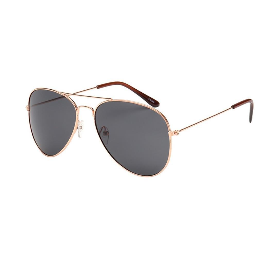 XILALU Women Men Reflection Aviator Sunglasses, Metal Frame Mirror Lens Twin-Beams Fashion Unisex Eyewear