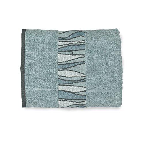 Shell Rummel Bath Towels, Butterfly Collection, 3-Piece Set, Blue