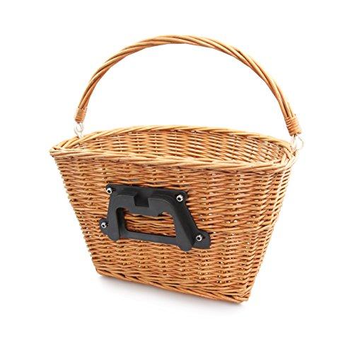 Colorbasket 01556 Adult Front Handlebar Wicker Bike Basket w
