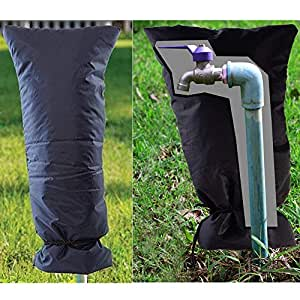 Amazon.com : Wffo Outdoor Faucet Cover, Faucet Socks
