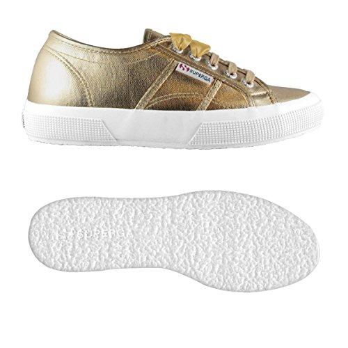 2750 Sneaker Cotmetw Donna Plus Superga Yellow Gold pw8zR8q
