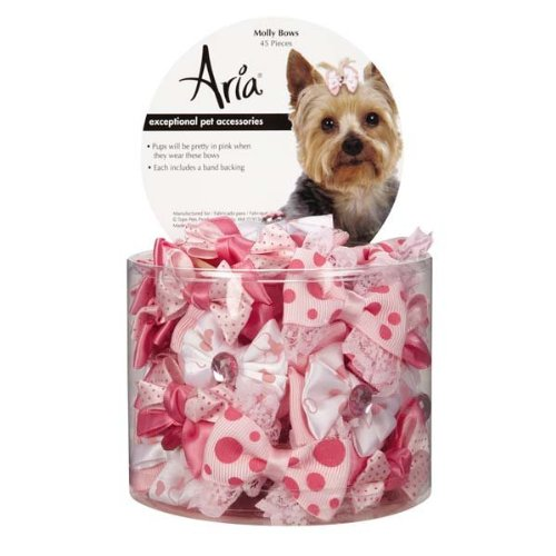Aria North DT5645 45 Molly Bows Canister 45 Pcs