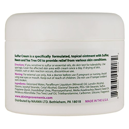 Sulfur Healing Itch, Ringworm, Wounds, Skin Rashes