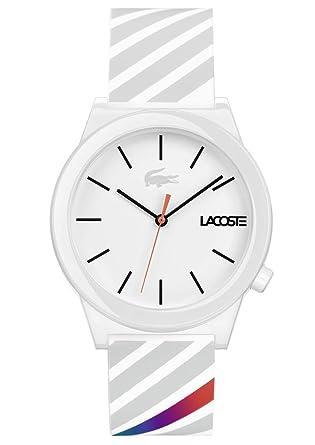 51ec0c108f00 Lacoste Reloj Análogo clásico para Hombre de Cuarzo con Correa en Silicona  2010935  Amazon.es  Relojes