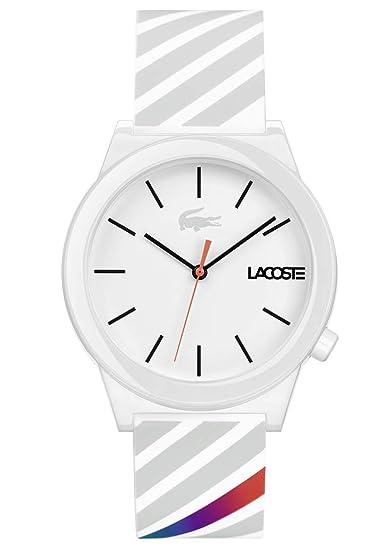 Lacoste Reloj Análogo clásico para Hombre de Cuarzo con Correa en Silicona 2010935: Amazon.es: Relojes