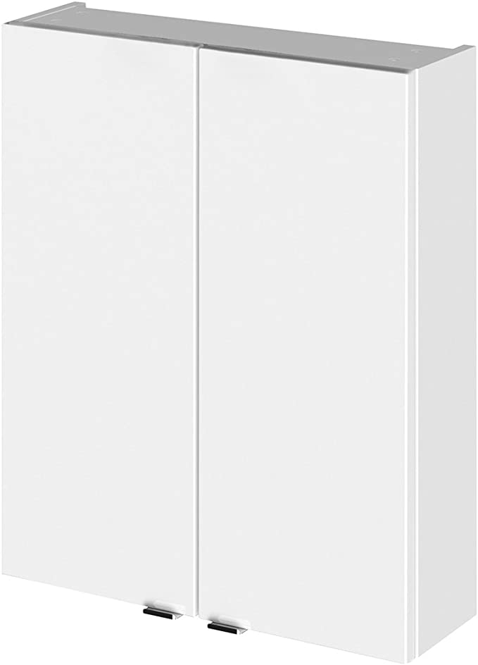 Gloss Grey Hudson Reed Fitted Wall Unit 300mm Wide