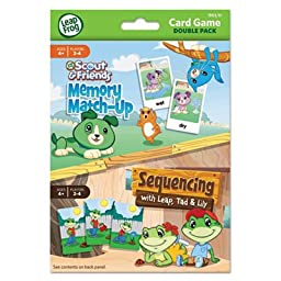 Card Game Double Pack - Memory Match Up /Sequencing,, Sold as 1 Each