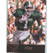 2011 Upper Deck College Legends Football Cards #47 Andre Rison - Michigan State Spartans