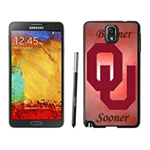 Personalized Samsung Galaxy Note 3 Cover Ncaa Big 12 Conference Oklahoma Sooners 10 Newest Hot Phone Case