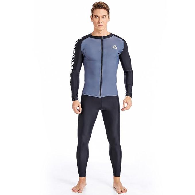 Amazon.com: Cuerpo completo Snorkel nadar Lycra piel traje ...