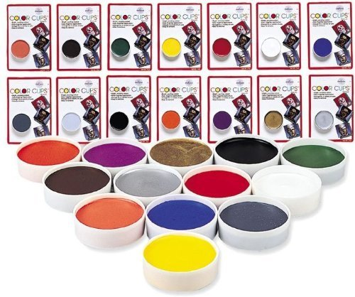 Costumes For All Occasions Dd256 Color Cup Carded Wlfmn Brwn
