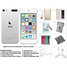 Apple iPod Touch 6th Generation and Accessories, 32GB - Silver