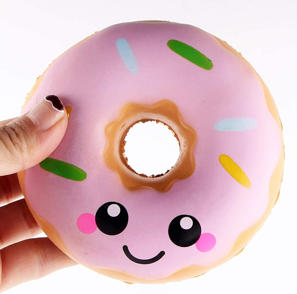 TianranRT The New Smiley Face Slow Rebound Donut ...