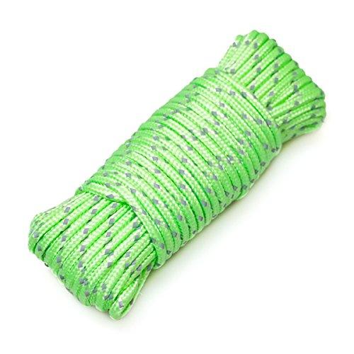 Anchoring Nylon Rope (Green (Reflective), 30 Feet) ()