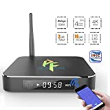 2016 Android T95 advance TV Box by Pigflytech, New Model Smart Box with Quad Core/2GB/16B/4K/S905 – Internet Media Streaming Device & Game Player with Kodi 16.0, Fully Unlocked Internet Streaming Media Player