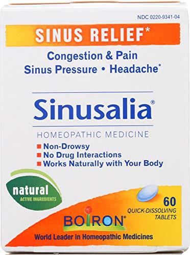 (Boiron (NOT A CASE) Sinusalia Sinus Homeopathic Medicine, 60 Tablets)