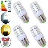 Excellent 4 x 2.5W LED Corn Light 42 2835 SMD 100-120V E26 Plug Day White Energy Saving High Power LED Light