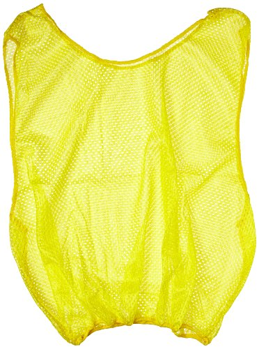 Sportime Mesh Scrimmage Vest - Youth Size - Yellow ()