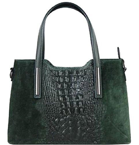 Bottega Carele - Leather Tote Bag For Green Woman