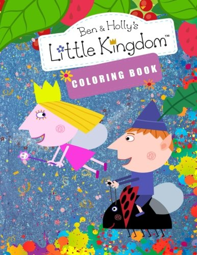 Ben and Holly's Little Kingdom Coloring Book.