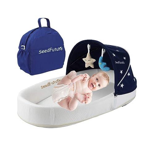 Amazon.com: Bebé cuna cuna cama de viaje Co Sleeper ...