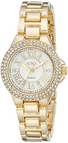 XOXO Women's XO5770 Analog Display Analog Quartz Gold Watch