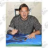 Francesco Totti Signed Italy 2006 Puma World Cup Winners Football Jersey
