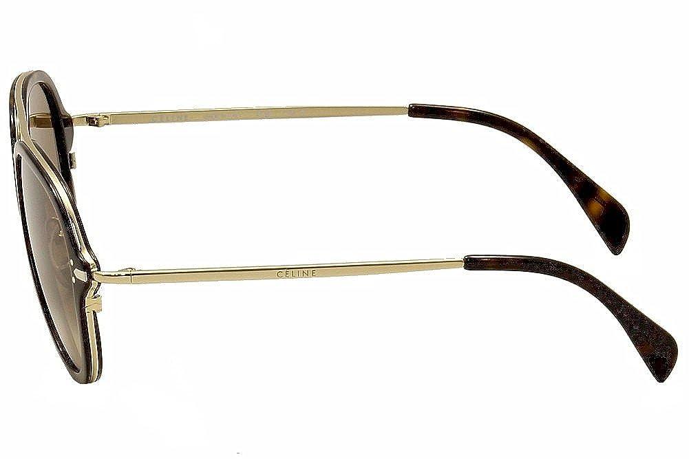 5cb02136ae7 Sunglasses Celine 41374 S 0ANT Dark Havana Gold   9J gray polarized lens at  Amazon Men s Clothing store