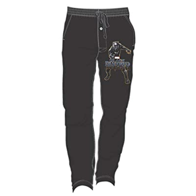 Black Panther Men's Black Sweatpants Small at Men's Clothing store