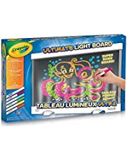 Crayola Canada Ultimate Light Board, Holiday Toys, Gift for Boys and Girls, Kids, Age 6, 7, 8, 9, Gifting (04-5179)