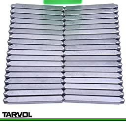 Number and Letter Stamp Set (36 PIECE PUNCH SET / A-Z & 0-9) Industrial Grade Hardened Carbon Steel Metal - 1/8\