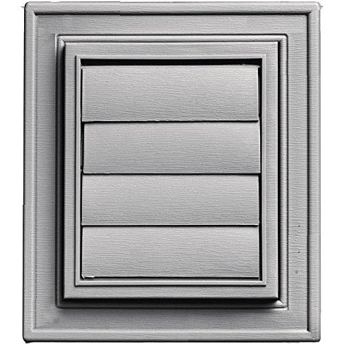 - Builders Edge 140147079016 Vent, Gray