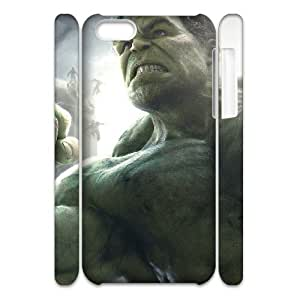 JCCFAN Avengers Age of Ultron 4 Phone 3D Case For Iphone 5C [Pattern-1]
