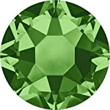 2000, 2038 & 2078 Swarovski Flatback Crystals Hotfix Fern Green | SS16 (3.9mm) - Pack of 1440 (Wholesale) | Small & Wholesale Packs | Free Delivery