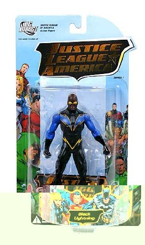 DC Direct: Justice League Of America Series 1 > Black Lightning Action Figure ()