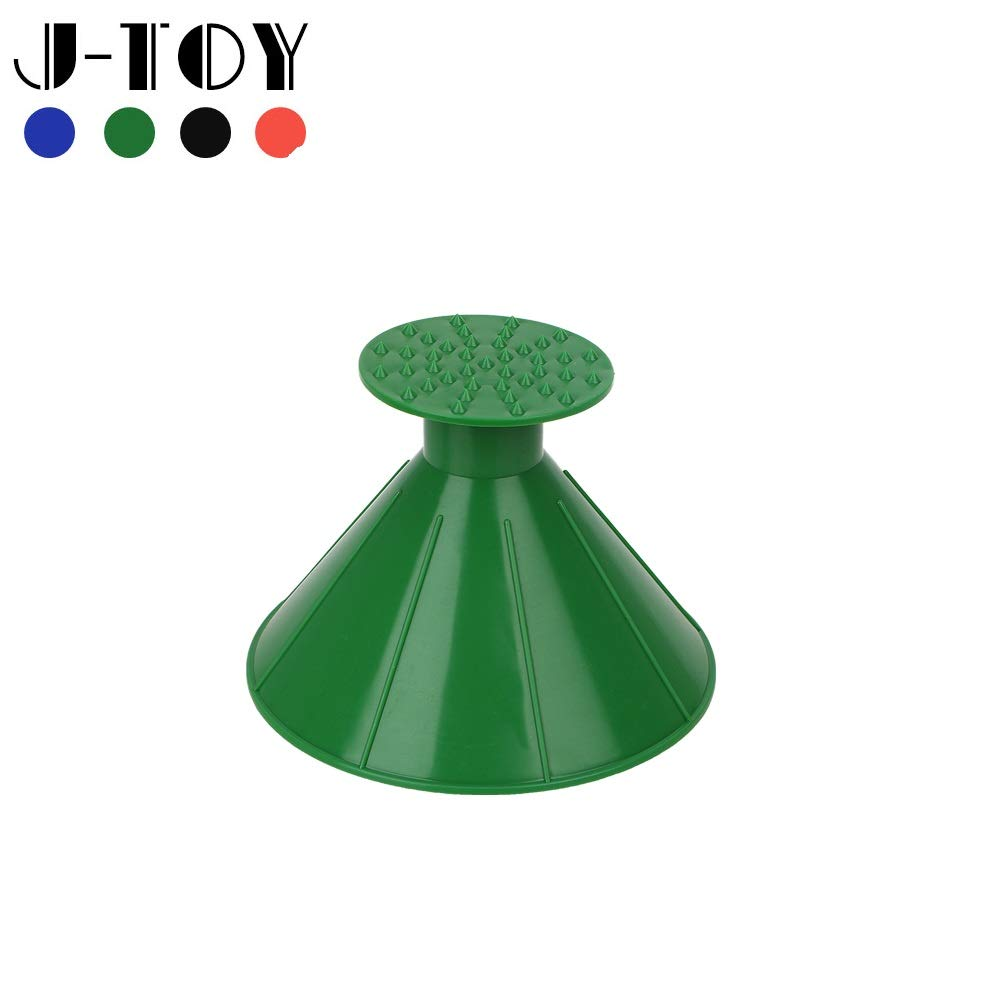 J-Toy Ice Scrapers Car Round Windshield Snow Scraper Car Snow Removal Shovel Tool as Funnel Magic Cone-Shaped Funnel Car Windshield Snow Removal Tool Green by J-Toy