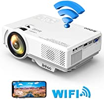 2019 Masterpiece, WiFi Mini Projector 1080P Supported, 2400 Lumens Full HD Video Projector with 176'' Projector size...