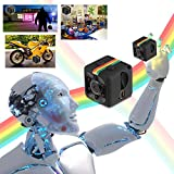 Mini Spy Camera Night Vision 1080P Nanny Cam Mini Camera Secret Camera spy cams best Digital Small HD Super Portable with Night Vision and Motion Detection Security Cameras for Home Car Drone Office