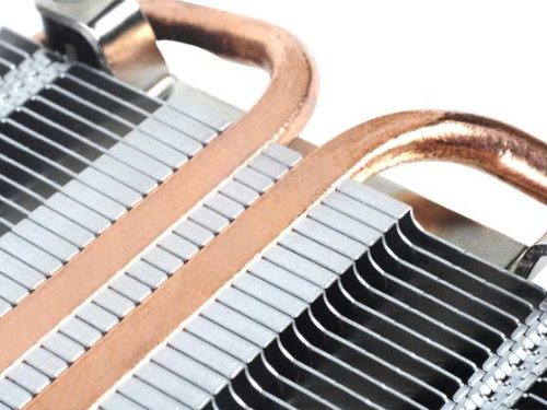 Silverstone Super Profile CPU Intel 80mm Fan 2x Copper