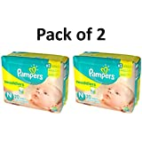 Pampers Swaddlers Diapers, Size Newborn, 20 Count Pack of 2 (Total of 40 Pampers)