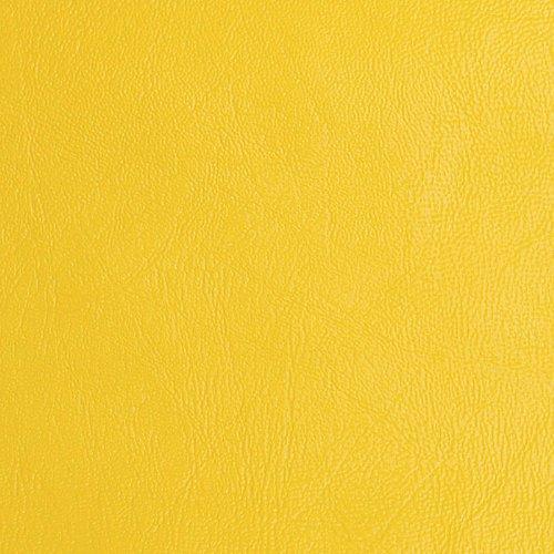 Plastex Fabrics Vinyl Yellow Fabric by The Yard ()