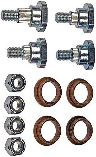 APDTY 49504 Door Hinge Pin And Bushing Kit