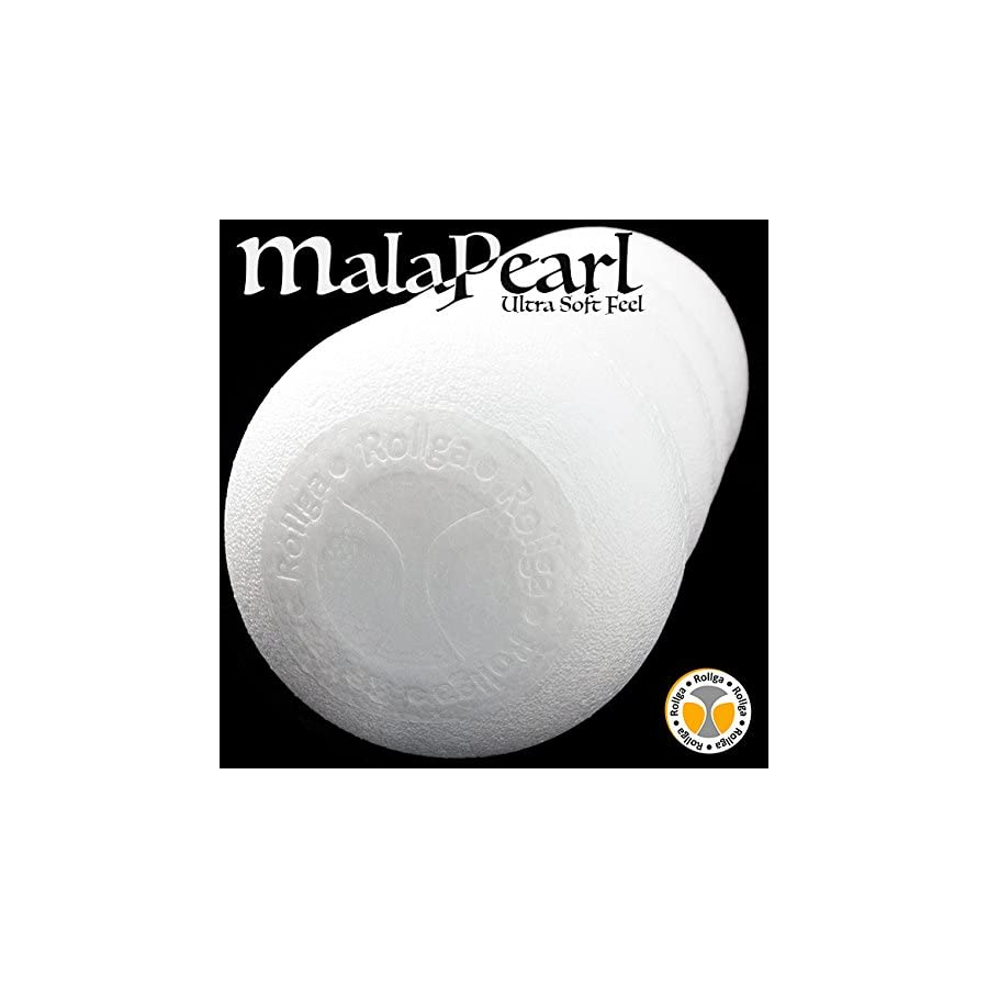 Back Roller Soft Contoured Back Massager MalaPearl Fome Roller White Foam Roller Pilates Spine Support