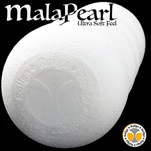 Back Roller Soft Contoured Back Massager MalaPearl Fome Roller White Foam Roller Pilates Spine Support