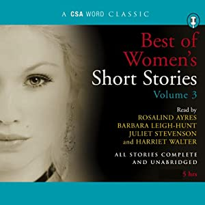 Best of Women's Short Stories, Volume 3 Audiobook